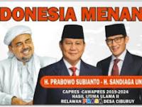Download Spanduk dan Baliho Capres dan Cawapres 2019 Prabowo Sandi