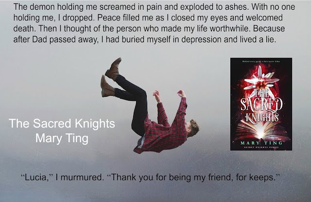 Release Blitz, Giveaway, The Sacred Knights, Secret Knights, Mary Ting, On My Kindle Book Reviews