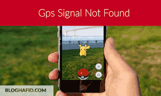 mengatasi GPS Signal Not Found