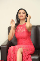 Sakshi Kakkar in Red Legsplit Sleeveless Gown at Dare movie Press meet ~  Exclusive 031.JPG