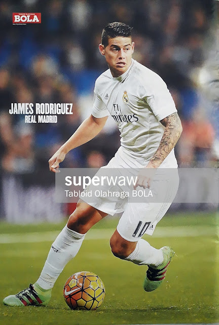 JAMES RODRIGUEZ REAL MADRID 2015