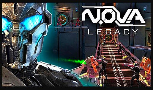 N.O.V.A Legacy serie gameplays versión Android
