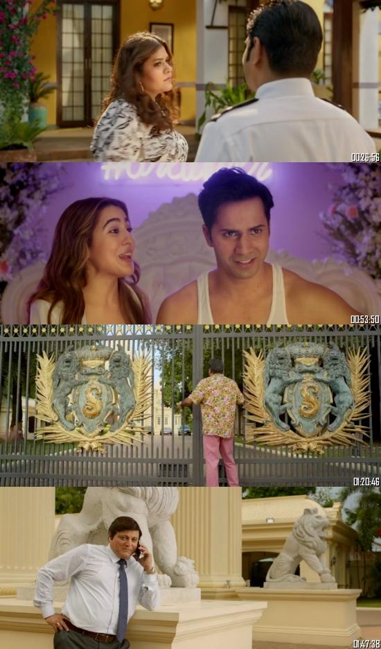 Coolie No 1 2020 Hindi 720p 480p WEB-DL x264 Full Movie