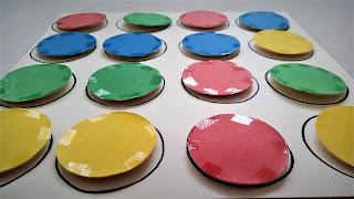 układanka lewopółkulowa DIY dla dzieci