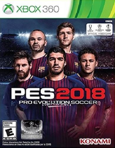 PES 2018 - Download PES Pro Evolution Soccer 2018 For XBox 360