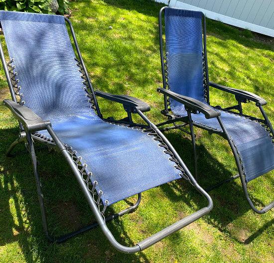 Make Outdoor Zero Gravity Chairs Look New