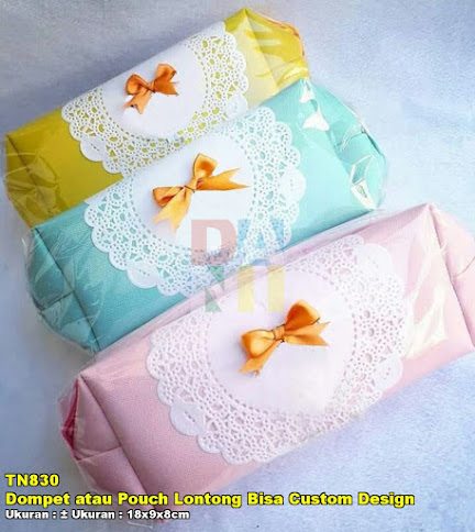 Dompet atau Pouch Lontong Bisa Custom Design