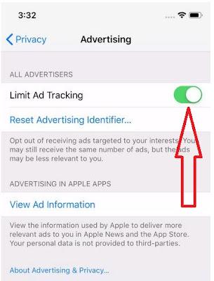 Cara Memblokir Pelacakan Iklan di Ponsel iPhone