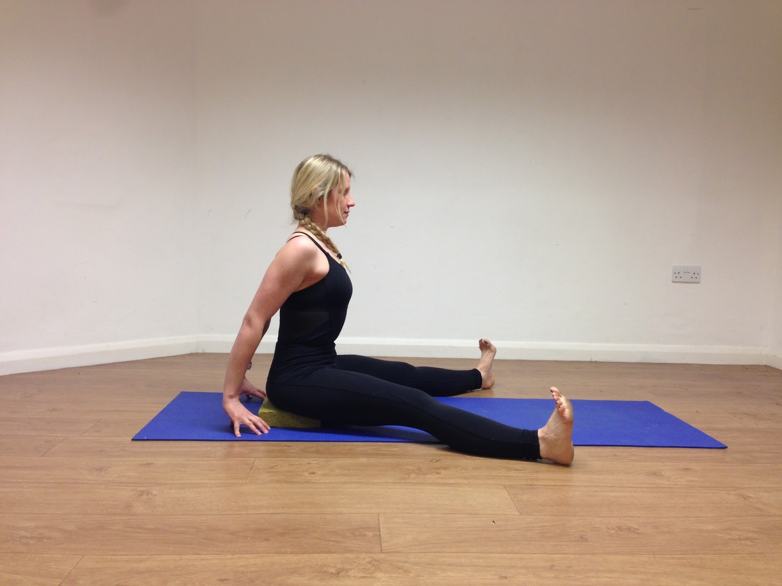 Seated Wide Angle Forward Fold (Upavistha Konasana)