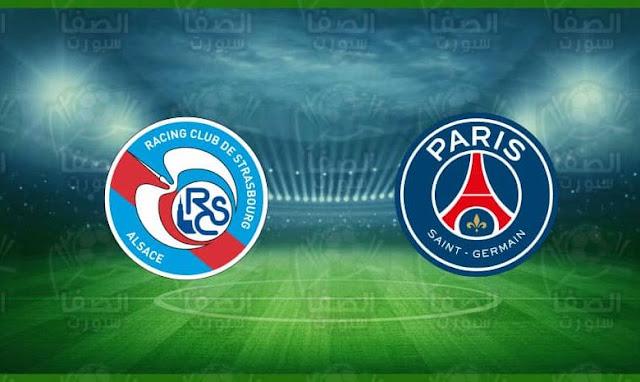 مشاهدة مباراة باريس سان جيرمان وستراسبورج بث مباشر