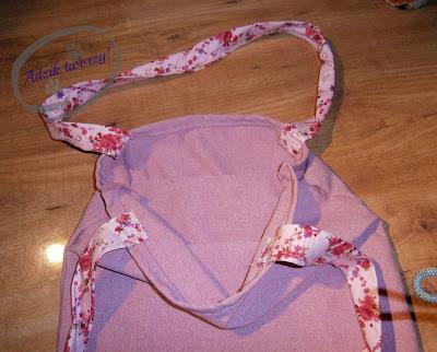 blog o szyciu - torba na zakupy