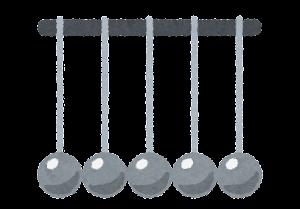 ニュートンのゆりかごのイラスト9