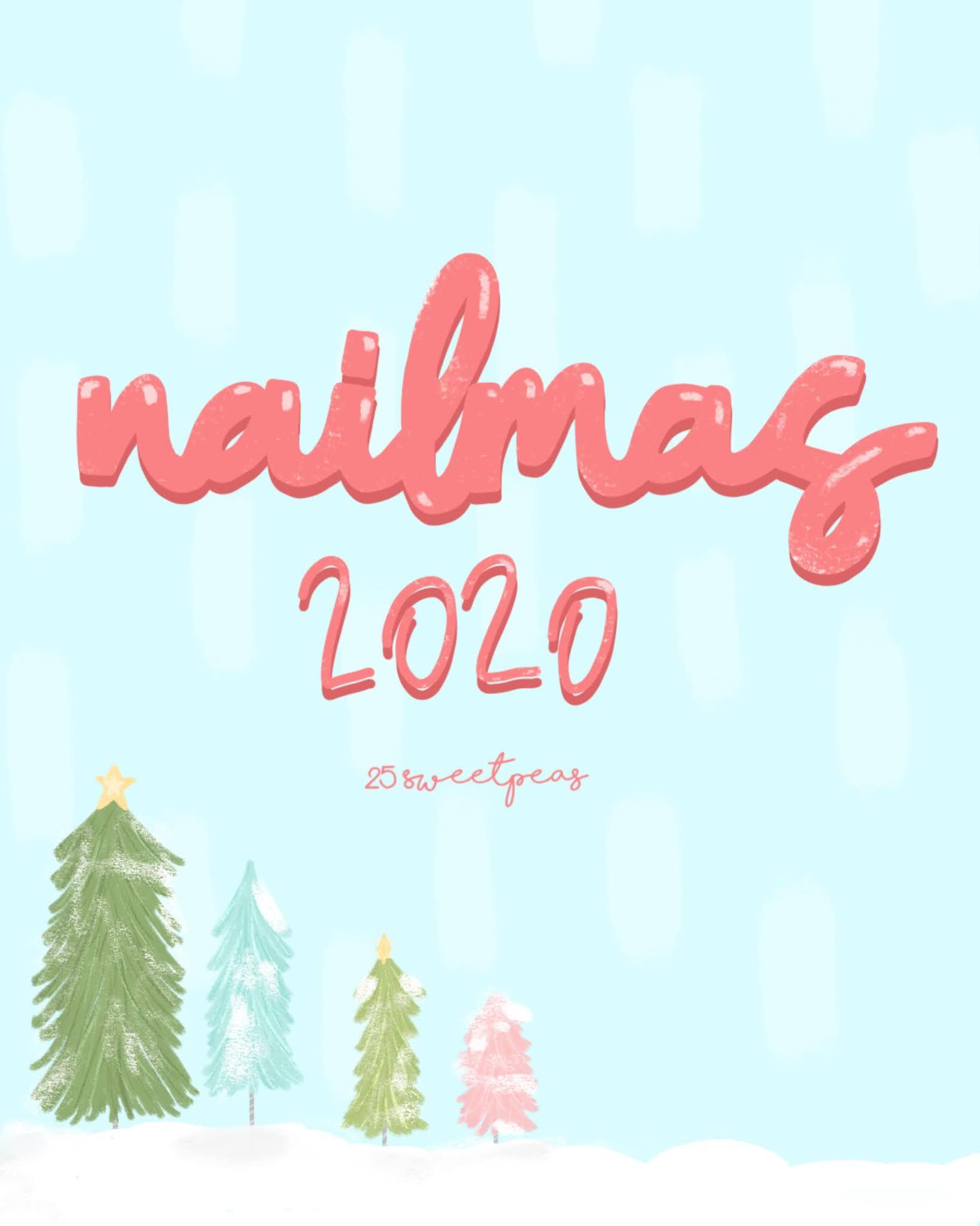 Nailmas 2020 _ 25 Sweetpeas