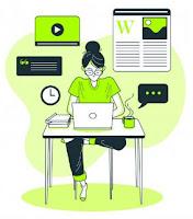 mendapatkan uang dari internet dengan menjadi blogger