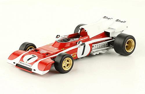 Ferrari 312 B2 1972 Mario Andretti f1 the car collection
