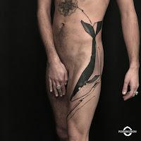tatouage baleine olivier poinsignon