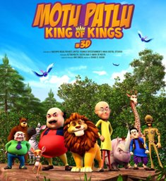 Official Trailer Of Motu Patlu King Of Kings In 3d Hindi Bollyquick
