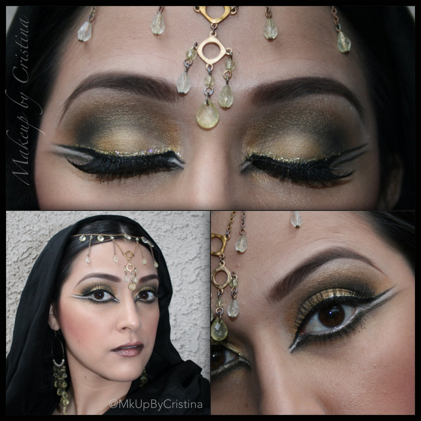 LOOKAMILLION : Arabic nights with a dash of gold: Collab ...