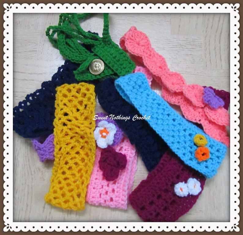 Sweet Nothings Crochet 9 More Headbands For Charity