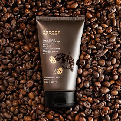 Cà phê Đắk Lắk làm sạch da chết Cocoon.