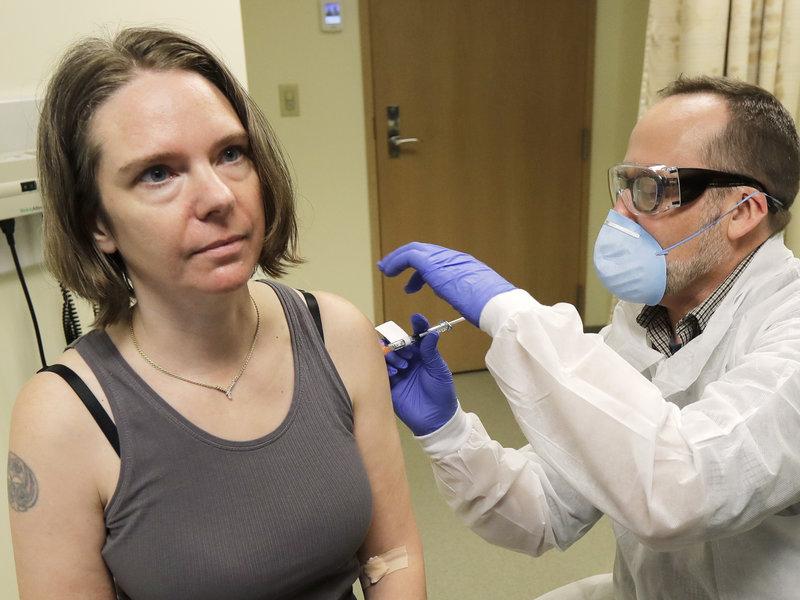 Moderna's coronavirus vaccine shows encouraging early results