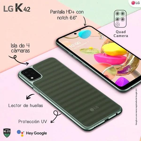 LG K42 EN PERÚ