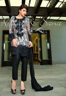 riffat and sana eid dresses 2015