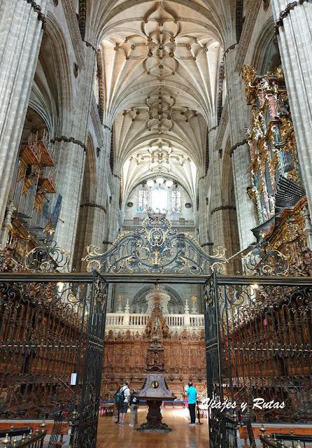 Coro de la catedral nueva de Salamanca