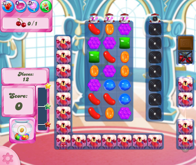 Candy Crush Saga level 2660