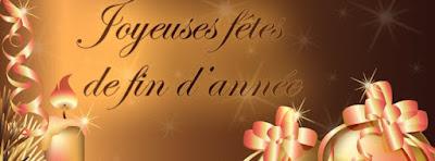 Couverture facebook joyeuses fêtes de fin d'année