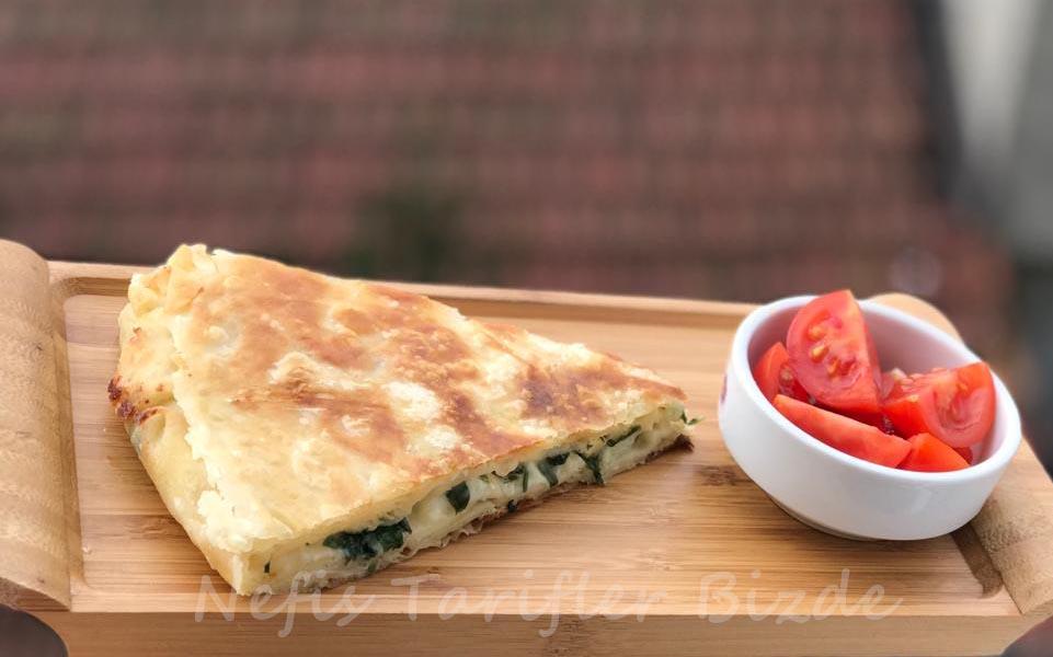 Peynirli kolay tava böregi tarifi