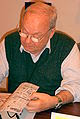 Siné au Salon du livre de Paris 2007