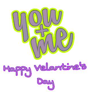 you and me Happy Valentine Day Image