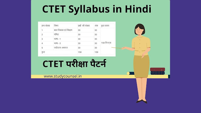 CTET Syllabus in Hindi