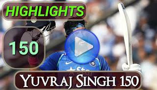 Yuvraj Singh 150