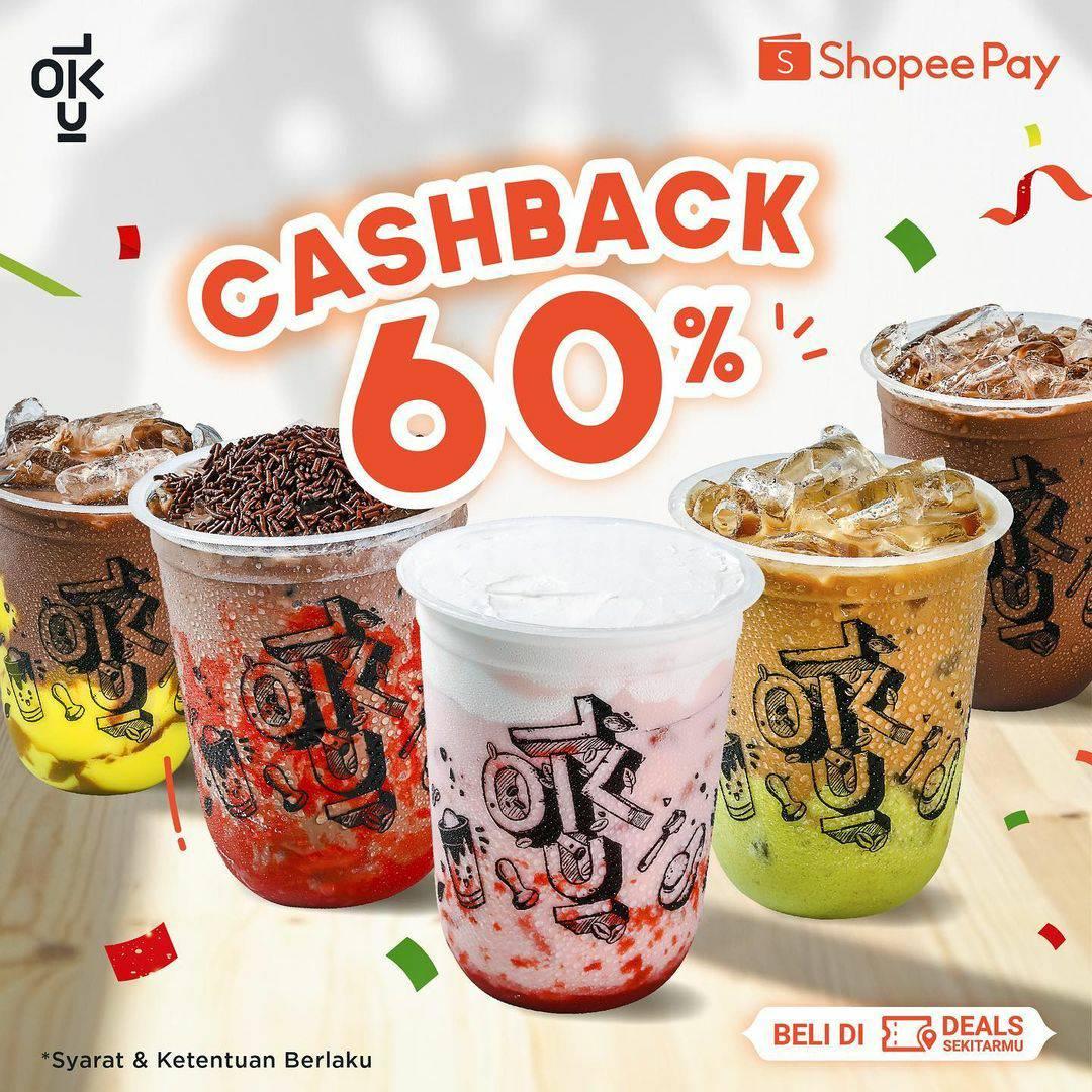 Kedai Kopi Kulo Promo Cashback 60% dengan Shopeepay 3 januari 2021