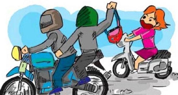 CIKINI : Dua Bandit Jalanan Beraksi Jambret Hp 'Diamankan Warga