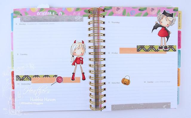 Heather's Hobbie Haven - Planner Embellishment Oct 8-14