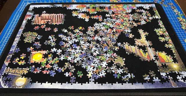 Jumbo Games Puzzle Mates Portapuzzle Board review