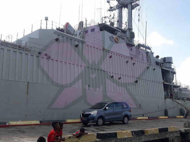 KRI Teluk Cendrawasih 533 ke Saumlaki untuk Amankan Laut Arafura dan Kepulauan Tanimbar