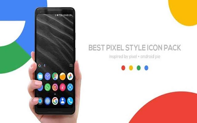 Pixel Pie Icon Pack 2.6 Apk - Tùy biến Icon cho Android