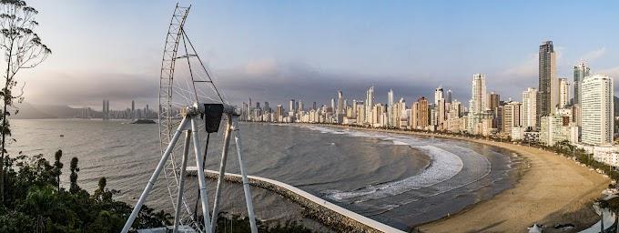Big Wheel começou a ser montada em Balneário Camboriú, em Santa Catarina! - Atualização 5