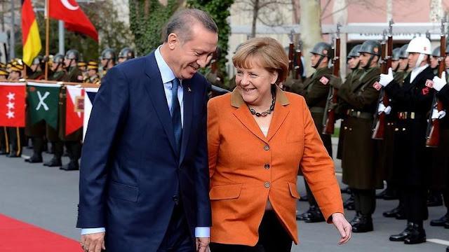 Εντολοδόχος του Ερντογάν η κυρία Μέρκελ;