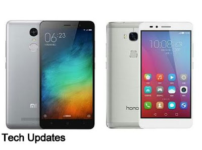 Comparison :Xiaomi Redmi Note 3 vs Huawei Honor 5X