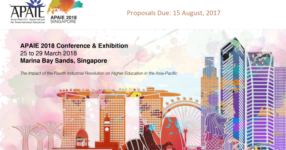 APAIE 2018: Call for Proposals on the Fourth Industrial Revolution in Higher Education in the Asia Pacific