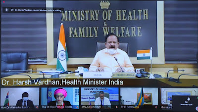 Harsh Vardhan participates in the 32nd Commonwealth Health Ministers' Meeting through VC: Highlights with Details