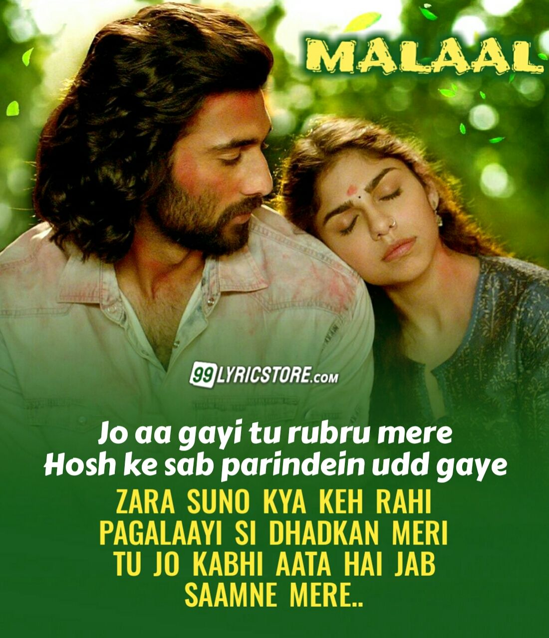 Zara Suno Hindi Song Lyrics From Movie Malaal