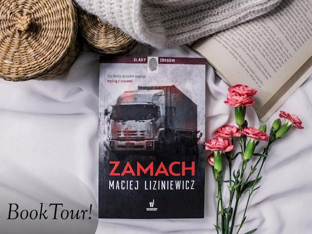 """Book tour z """"Zamachem""""!"""