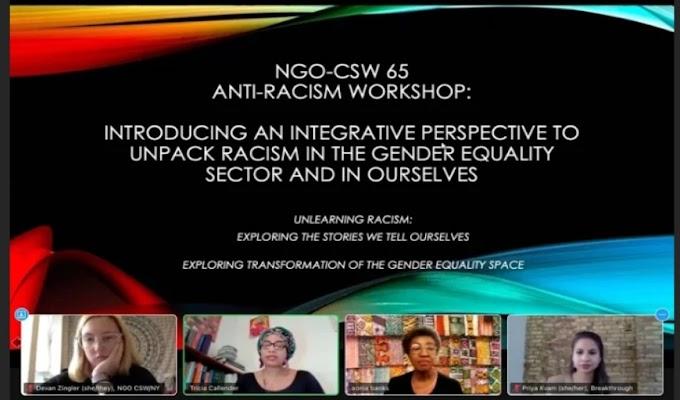 Stan Pameran Virtual pada Commission on The Status of Women (CSW) ke-65 Membuat Banyaknya permintaan Kerjasama dari Perempuan di Seluruh Dunia