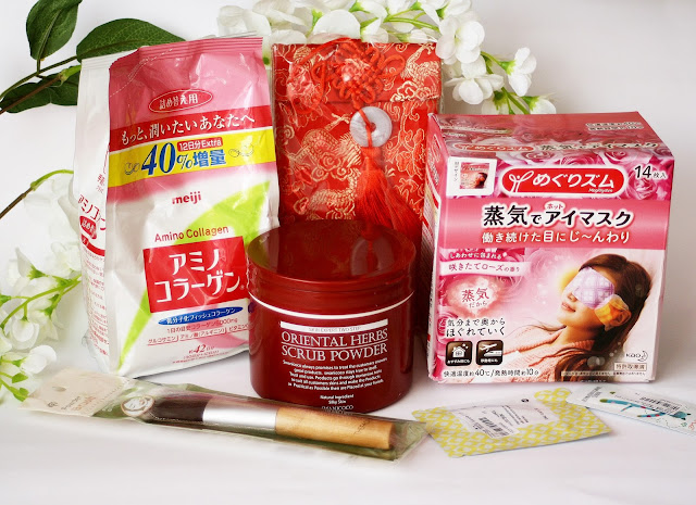 Yesstyle, Yesstyle haul, Yesstyle Order, Yesstyle shopping, Meiji, Tony Moly, Kao, Hot Mask, The Face Shop, Hair Massager, MythCeuticals, chinese dragon, korean clothes, korean dress